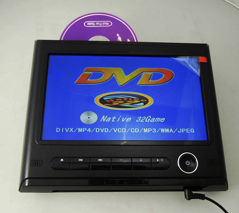 9 Inch Car Lcd Montor DVD Player With Mp5 Games Easy