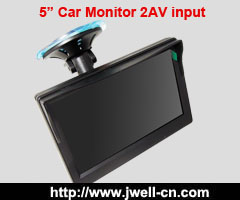 HD 5 inch car monitor 640x480 with good screen for heigh brightness