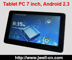 Tablet PC 7 inch, Android 2.3 OS, WIFI, touch screen,HDMI, GPS, DVB-T