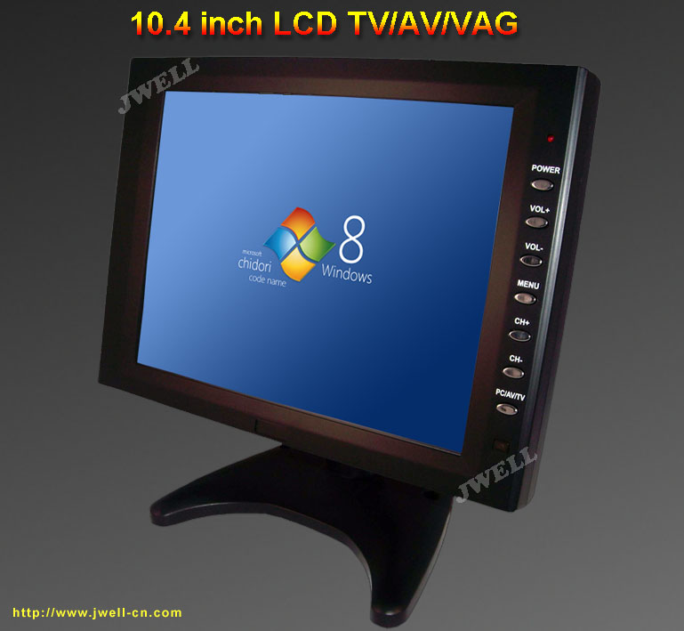 10 4 inch tft lcd monitor with vga port j well industrial. Black Bedroom Furniture Sets. Home Design Ideas
